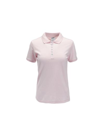 Ženska polo majica s kratkimi rokavi Champion 112612 - roza