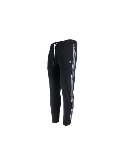 Moške dolge hlače Champion 214226 na patent - črne