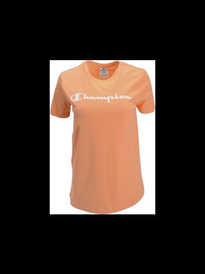 Ženska športna majica kratek rokav Champion® C112602 - oranžna