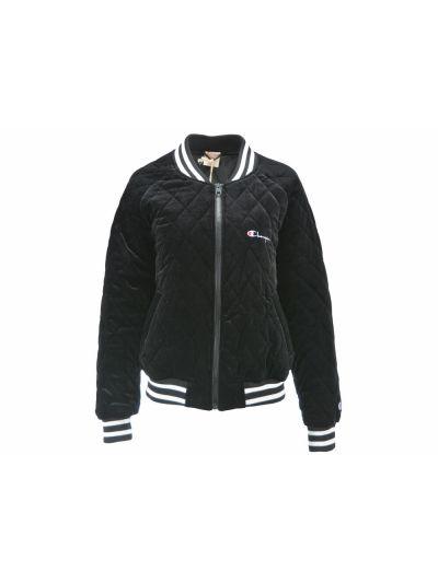 Ženska jakna/bomber Champion® Reverse Weave® 111068 črna PREMIUM