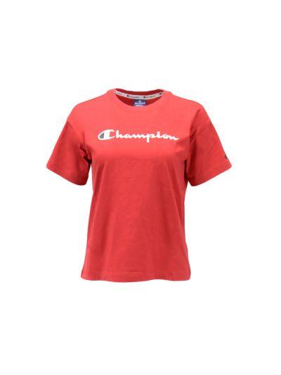 Ženska športna majica Champion® kratek rokav - rdeča