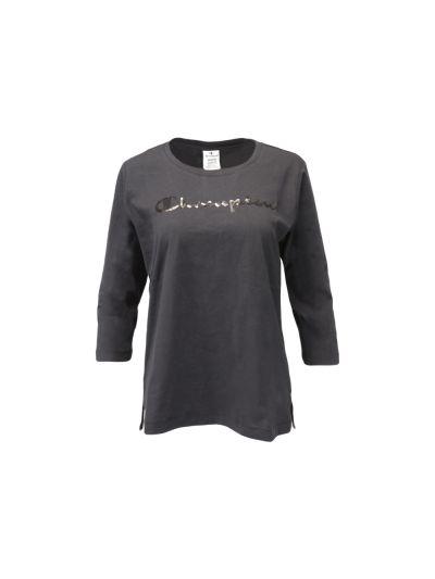 Ženska majica Champion® - 3/4 rokav - črna