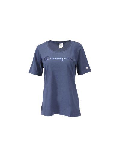 Ženska majica Champion® 111523 kratek rokav - modra