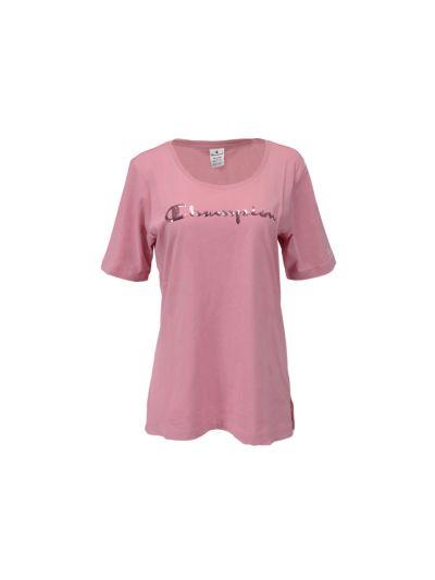 Ženska majica Champion® kratek rokav - roza