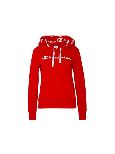 Ženski pulover s kapuco Champion® 112580 - rdeč