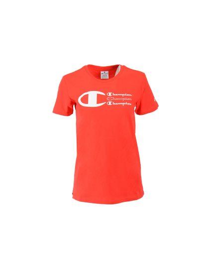 Ženska športna majica kratek rokav Champion 112604 - rdeča