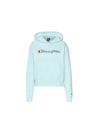 Ženski pulover s kapuco Champion Rochester 112638 - turkizna