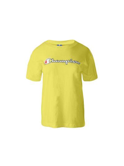 Ženska majica Champion ROCHESTER 112650 - rumena