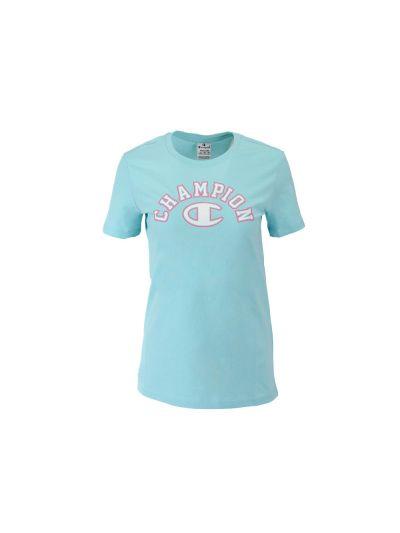 Ženska športna majica kratek rokav Champion 112832 - mint