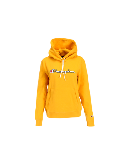 Ženski pulover s kapuco Champion® ROCHESTER 113185 - rumen