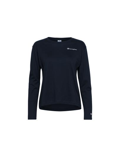 Ženska majica z dolgimi rokavi Champion® 113230 - navy