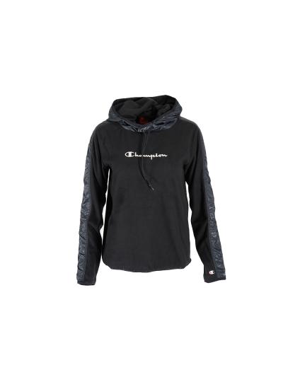 Ženski pulover s kapuco Champion QuickDry 13233 - črn