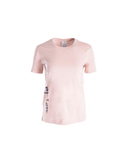 Ženska športna majica kratek rokav Champion 113255 - pastelno roza