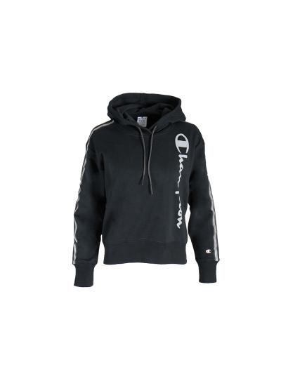 Ženski pulover s kapuco Champion 113285 - črn
