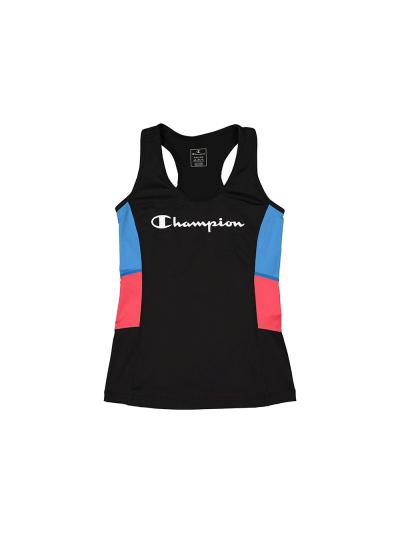 Ženska športna majica brez rokavov Champion 113482 - črna