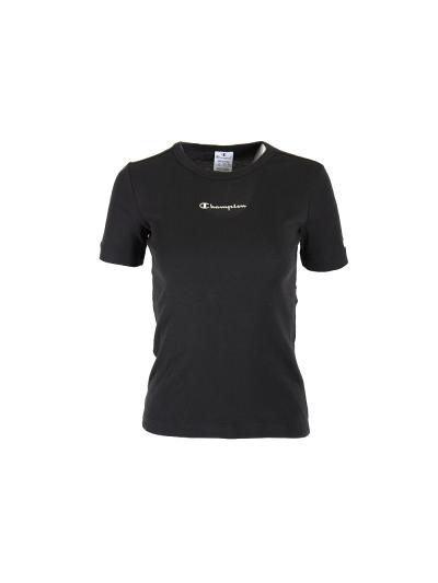 Ženska majica s kratkimi rokavi Champion 113691 - črna