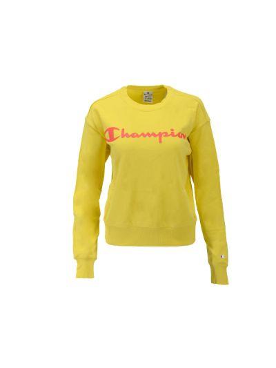 Ženski pulover Champion 114396 - pastelno rumen
