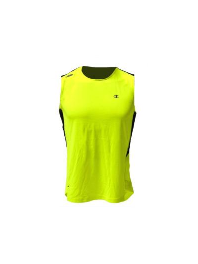 Moška športna majica brez rokavov Champion® C210196 - fluo rumena