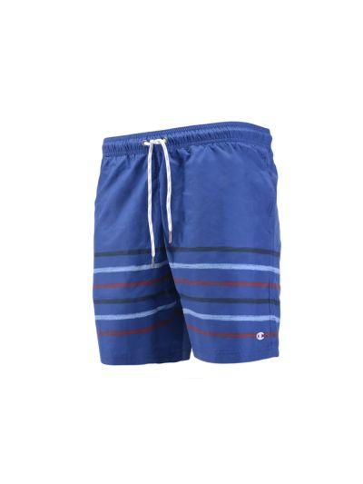 Moške kratke kopalne hlače Champion® 212882 modre - print