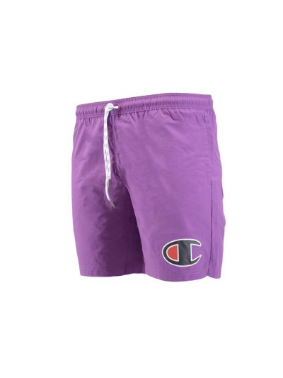 Moške kopalne kratke hlače Champion® 213389 ROCHESTER - vijolična