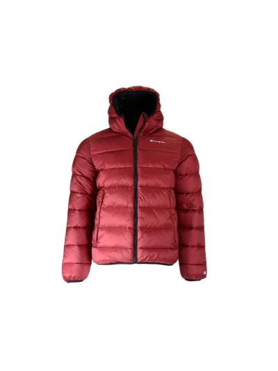 Moška jakna Champion® 213548 s kapuco - višnjeva
