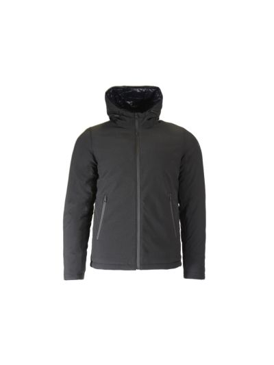 Moška jakna Champion® 213550 s kapuco - črna