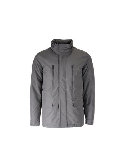 Moška jakna Champion® 213554 s kapuco - siva