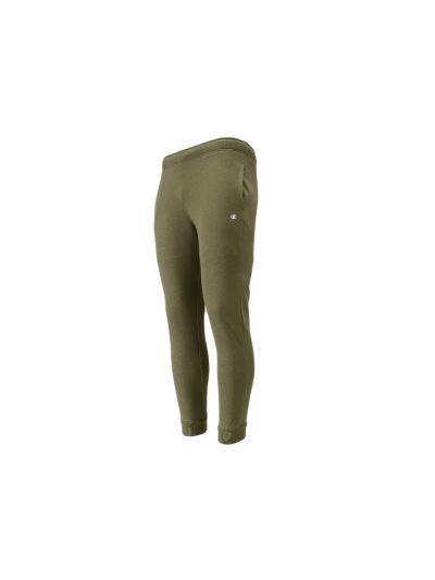 Moške dolge hlače Champion® 213572 na patent - olivna