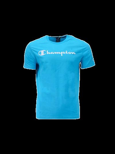 Moška športna majica Champion® 214142 kratek rokav - modra