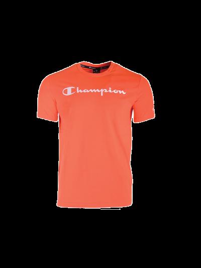 Moška majica s kratkimi rokavi Champion 214142 - oranžna