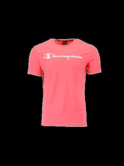 Moška športna majica Champion® 214142 kratek rokav - roza