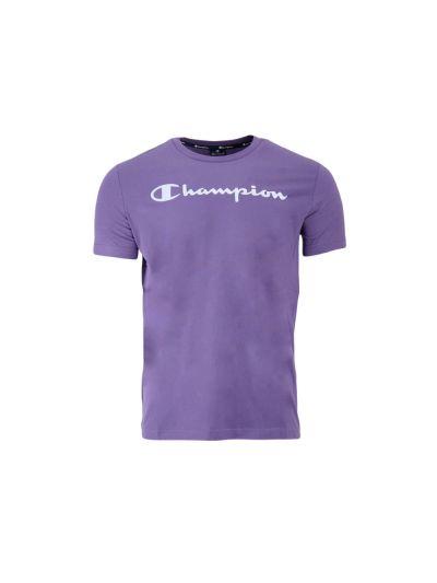 Moška športna majica Champion® 214142 kratek rokav - vijolična