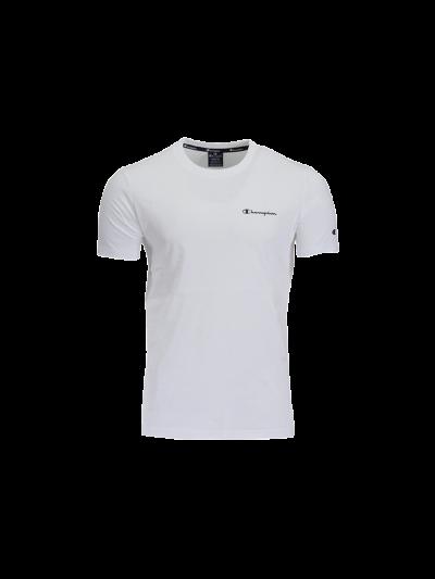 Moška športna majica Champion® 214153 kratek rokav - bela