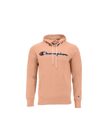 Moški pulover s kapuco Champion ROCHESTER 214183 - pastelno roza