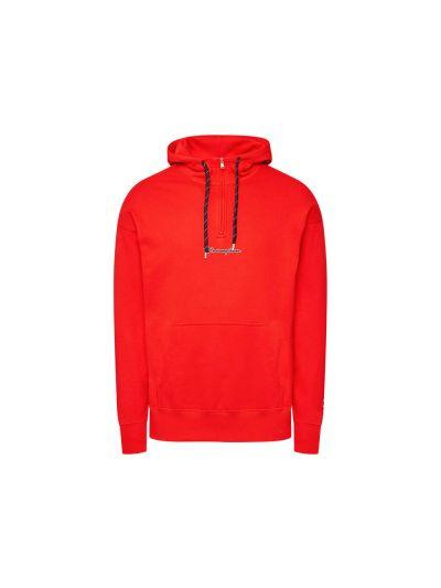 Moški pulover s polzadrgo in kapuco Champion ROCHESTER - rdeča