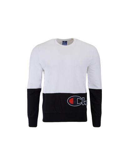 Moški pulover Champion® Rochester 214206 - bel