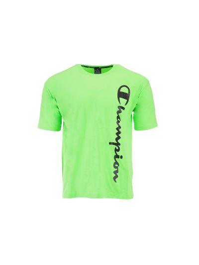 Moška športna majica kratek rokav Champion LEGACY 214233 - fluo zelena