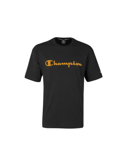 Moška majica s kratkimi rokavi Champion® 214234 - črna / oranžna