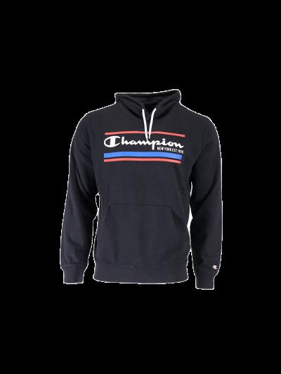 Moški pulover Champion® 214297 s kapuco - črna
