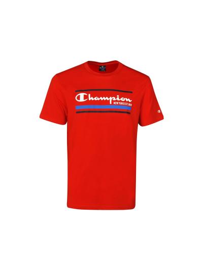 Moška športna majica Champion® GRAPHIC 214306 - rdeča
