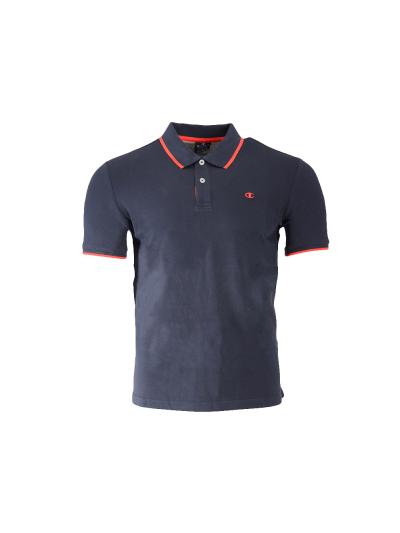 Moška polo majica s kratkimi rokavi Champion® 214398 - navy / rdeča