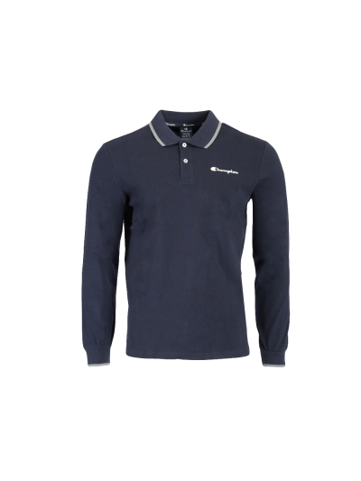 Moška polo majica z dolgimi rokavi Champion 214757 - navy