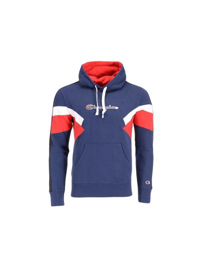 Moški pulover s kapuco Champion® ROCHESTER Colorsport - moder