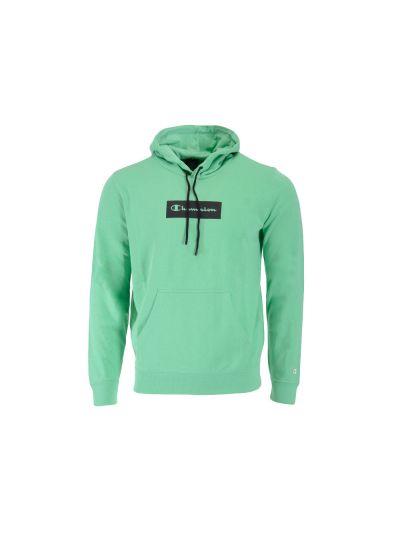 Moški pulover s kapuco Champion AMERICAN PASTELS 215783 - pastelno zelen