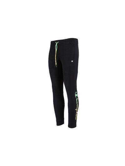 Moške dolge hlače na patent Champion AMERICAN PASTELS 215787 - črne