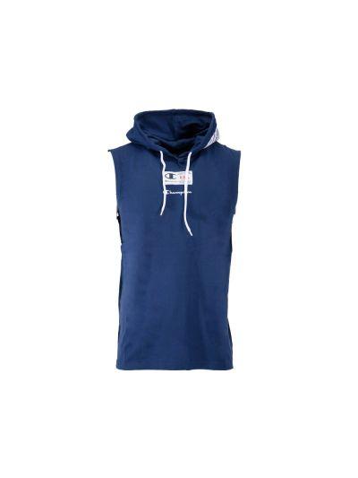 Moška majica brez rokavov s kapuco Champion USA 215925 - navy