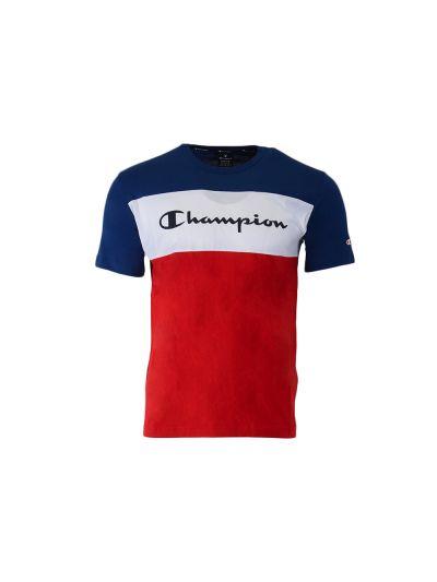 Moška športna majica Champion American Classics 216197 - rdeča / navy / bela