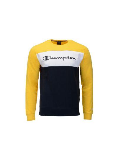 Moški pulover Champion American Classics 216198 - rumen / črn / bel