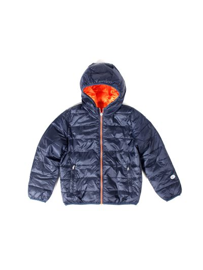 Otroška jakna Champion 304348 - modra/oranžna BLI/JFO