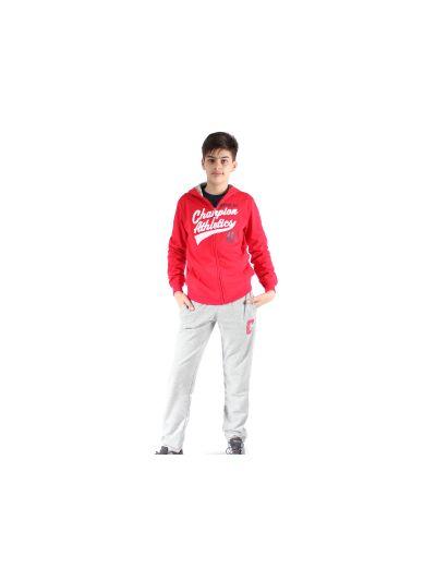 Otroški komplet s kapuco Champion 304454 rdeč CRD